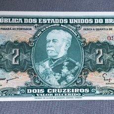 Billetes extranjeros: BRASIL - 2 CRUZEIROS. Lote 217285930