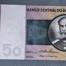 Billetes extranjeros: BRASIL - 50 CRUZEIROS. Lote 217286151