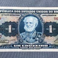 Billetes extranjeros: BRASIL - 1 CRUZEIRO. Lote 217286397