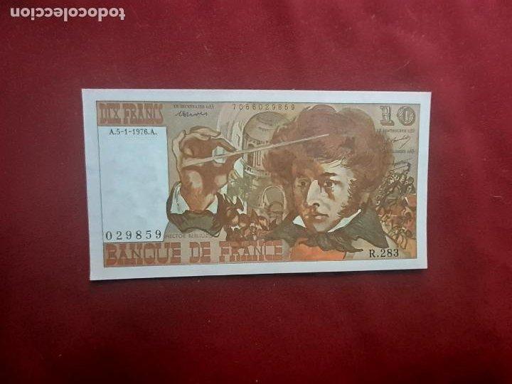 FRANCIA. 10 FRANCOS 1976 SC (Numismática - Notafilia - Billetes Extranjeros)