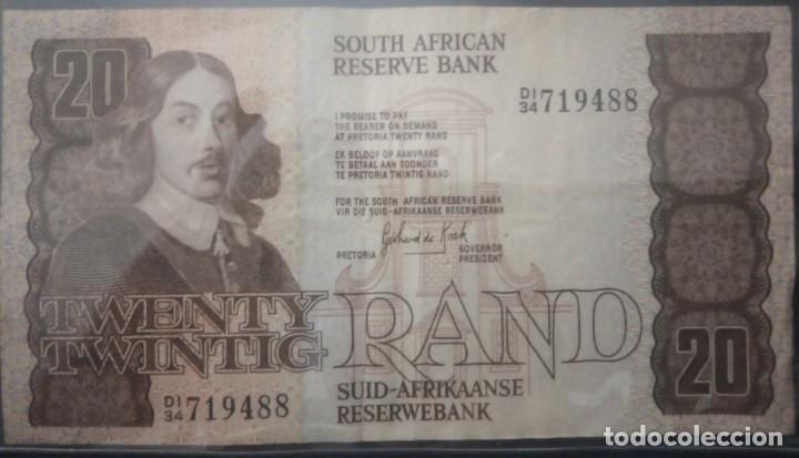 SUD AFRICA 20 RAND DI/34 719488 (Numismática - Notafilia - Billetes Extranjeros)