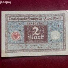 Banconote internazionali: ALEMANIA. 2 MARCOS DE 1920. SC-. Lote 218235846