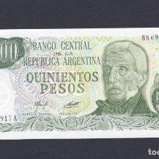 Billetes extranjeros: ARGENTINA - 500 PESOS DE 1979 - SIN CIRCULAR. Lote 218324490