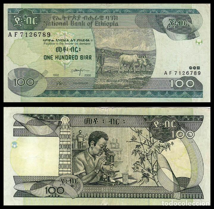 ETIOPIA : 100 BIRR (Numismática - Notafilia - Billetes Extranjeros)