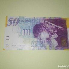 Billetes extranjeros: ISRAEL - 50 NEW SHEQALIM 2007. Lote 218592375