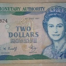 Billetes extranjeros: BERMUDA 2 DOLLARS 1997 B/4 470824. Lote 218851443