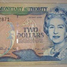 Billetes extranjeros: BERMUDA 2 DOLLARS 2000 C/2 572871. Lote 218851482