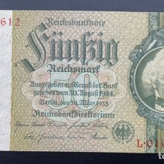 Billetes extranjeros: 50 REICHSMARK 30-03-1933 ALEMANIA. Lote 220955240