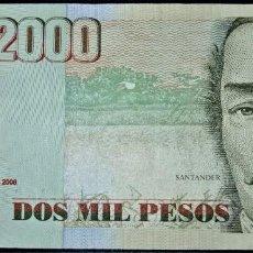 Billets internationaux: COLOMBIA 2000 PESOS 2006. PICK 451. Lote 221374522