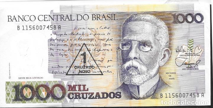 BILLETE DE BANCO DE BRASIL (Numismática - Notafilia - Billetes Extranjeros)