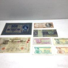 Billetes extranjeros: LOTE BILLETES EXTRANJERO - VARIOS PAISES. Lote 221551846