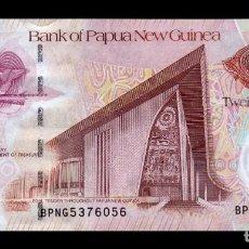 Billetes extranjeros: PAPUA NEW GUINEA 20 KINA CONMEMORATIVO 2008 PICK 36 SC UNC. Lote 221951833