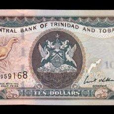 Billetes extranjeros: TRINIDAD & TOBAGO 10 DOLLARS 2006 PICK 48 SC UNC. Lote 221953850