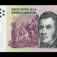 Billetes extranjeros: ARGENTINA 5 PESOS 2003 (2015) PICK 353B SERIE I SC UNC. Lote 221953908