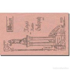 Billetes extranjeros: BILLETE, AUSTRIA, GALLSPACH, 10 HELLER, VALEUR FACIALE 1, 1920, EBC, MEHL:FS 219. Lote 222090046