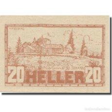 Billetes extranjeros: BILLETE, AUSTRIA, ST. JOHANN AM WIMBERG O.Ö. GEMEINDE, 20 HELLER, TEXTE, 1920. Lote 222090153