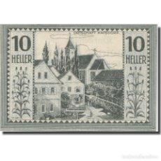 Billetes extranjeros: BILLETE, AUSTRIA, BODENDORF O.Ö. GEMEINDE, 10 HELLER, TEXTE 1, 1921. Lote 222090236