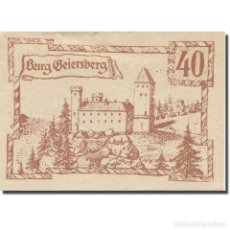 Billetes extranjeros: BILLETE, AUSTRIA, LEBING O.Ö. GEMEINDE, 40 HELLER, TEXTE 1, 1920, 1920-12-31. Lote 222090237