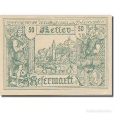 Billetes extranjeros: BILLETE, AUSTRIA, KEFERMARKT O.Ö. GEMEINDE, 50 HELLER, TEXTE 2, 1920. Lote 222090347