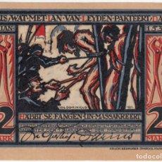 Billetes extranjeros: ALEMANIA NOTGELD 2 MARK 1921 MUNSTER CATEDRAL Y PRISIONEROS - LOTE 191. Lote 222227052
