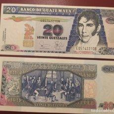 Billetes extranjeros: GUATEMALA : 20 QUETZALES 2003 SC.UNC. PK.# 108. Lote 222289370
