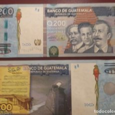 Billetes extranjeros: GUATEMALA : 200 QUETZALES 2009 SC.UNC. PK.# 120. Lote 222290085