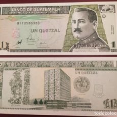 Billetes extranjeros: GUATEMALA : 1 QUETZAL 1998 SC.UNC. PK.# 99. Lote 222291790