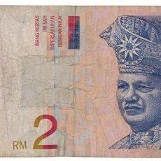Billetes extranjeros: MALASIA - 2 RINGGIT. Lote 222366222