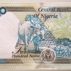 Billetes extranjeros: NIGERIA. 200 NAIRA. Lote 222716282