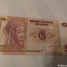 Billetes extranjeros: B227. BILLETE DEL CONGO 50 FRANCS. Lote 222717271