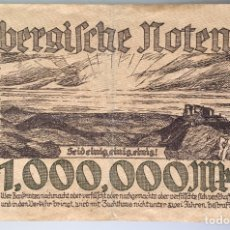 Billetes extranjeros: ALEMANIA. WURTTEMBERG. 1000000 MARCOS 1923. Lote 222742646