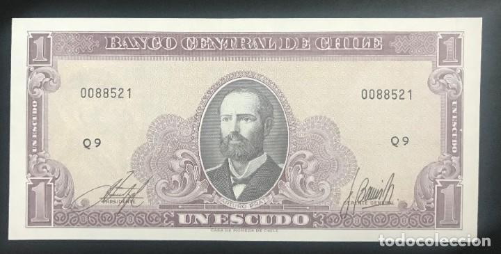 CMC CHILE 1 ESCUDO 1964 PICK 136 SC (Numismática - Notafilia - Billetes Internacionales)