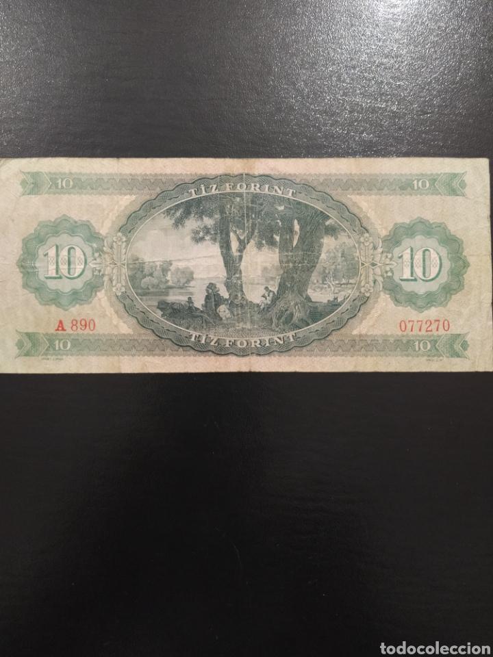 Billetes extranjeros: Billete 10 forint florines 1969 Hungría - Foto 2 - 226106848