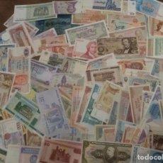 Billetes extranjeros: 100 BILLETES MUNDIALES DE DISTINTAS EPOCAS. Lote 226993215