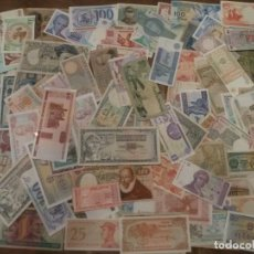 Billetes extranjeros: 100 BILLETES MUNDIALES DE DISTINTAS EPOCAS. Lote 226993475