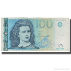 Billetes extranjeros: BILLETE, 100 KROONI, 1999, ESTONIA, KM:82A, RC+. Lote 227908695