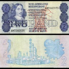 Billetes extranjeros: SUDAFRICA: 2 RAND. Lote 229887010
