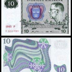 Billetes extranjeros: SUECIA: 10 CORONAS.. Lote 229889230