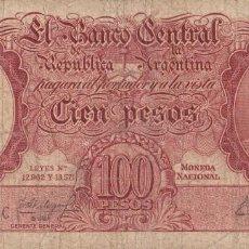 Billetes extranjeros: ARGENTINA 100 PESOS REPÚBLICA ARGENTINA. Lote 230263805