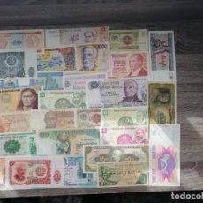 Billetes extranjeros: LOTE DE 28 BILLETES ,MBC-EBC. Lote 230531415