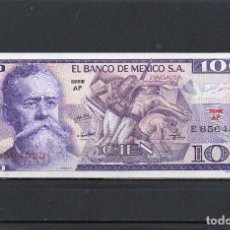 Banconote internazionali: MÉXICO 30-05-1974, 100 PESOS, P-68A, SC-UNC, 2 ESCANER. Lote 234521280