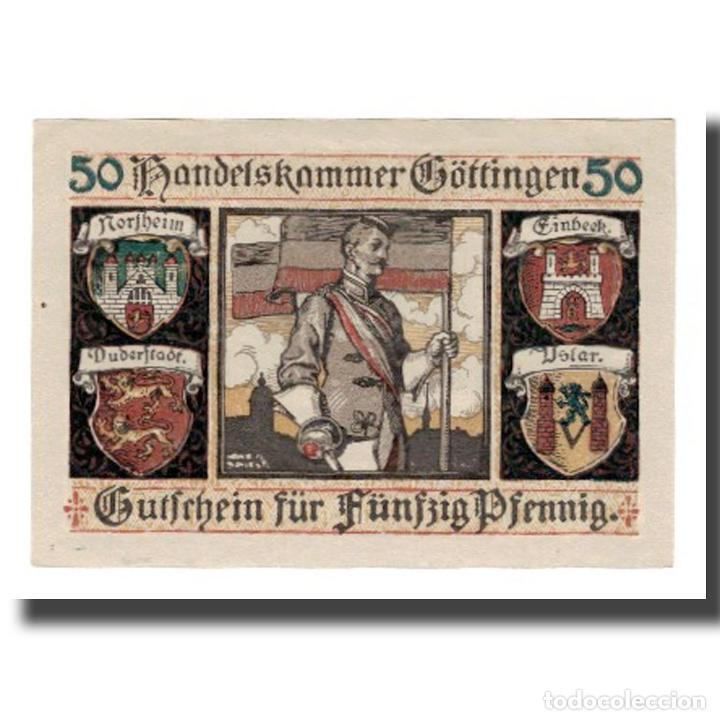 Billetes extranjeros: Billete, Alemania, Göttingen Handelskammer, 50 Pfennig, personnage 7, Undated - Foto 2 - 234897935