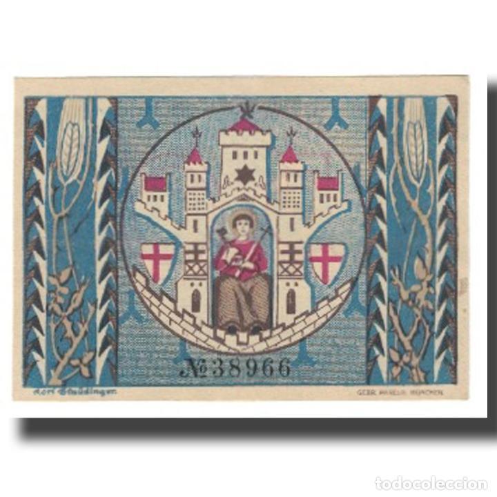 Billetes extranjeros: Billete, Alemania, Montabaur, 50 Pfennig, Blason, 1920, 1920-12-01, UNC - Foto 2 - 234899920
