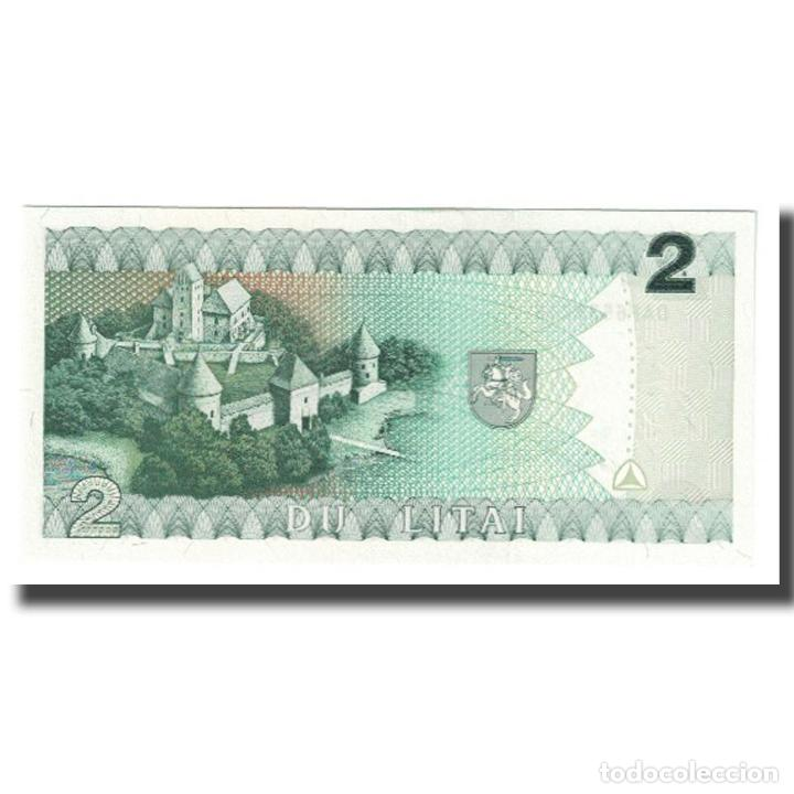 Billetes extranjeros: Billete, 2 Litai, 1993, Lituania, KM:54a, UNC - Foto 2 - 234934805
