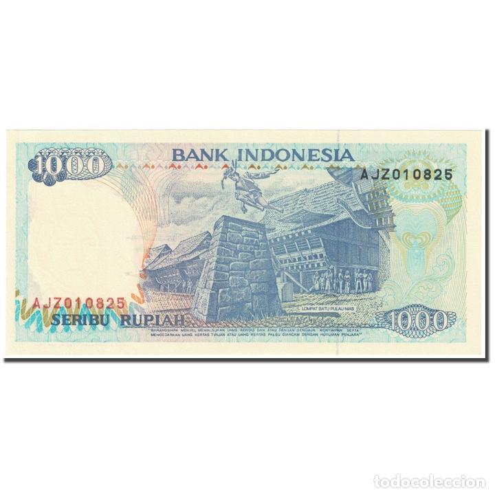Billetes extranjeros: Billete, 1000 Rupiah, 1993, Indonesia, Old Date : 1992 (1993)., KM:129b, UNC - Foto 2 - 234941480