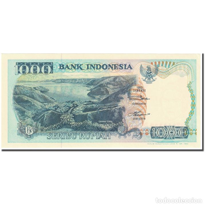 BILLETE, 1000 RUPIAH, 1993, INDONESIA, OLD DATE : 1992 (1993)., KM:129B, UNC (Numismática - Notafilia - Billetes Extranjeros)