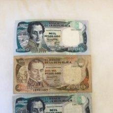 Billetes extranjeros: BILLETES DE COLOMBIA. Lote 235681835