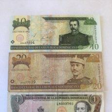 Billetes extranjeros: BILLETES DE LA REPÚBLICA DOMINICANA. Lote 235682685