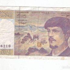 Billetes extranjeros: 20 FRANCOS - FRANCIA - 1993. Lote 236111680