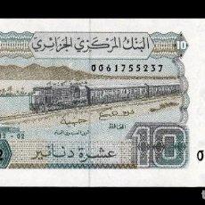 Billetes extranjeros: ARGELIA ALGERIA 10 DINARS 1983 PICK 132A SC UNC. Lote 236220175